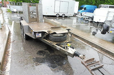 Used Ifor Williams GH94 Twin Axle Plant Trailer