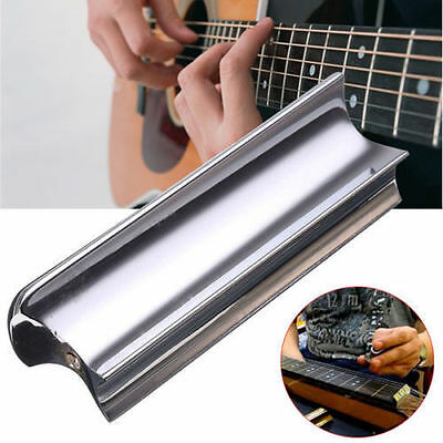 Steel Slide Dobro Tone Bar For Hawaiian Accoustic Electric 6 String Guitar New