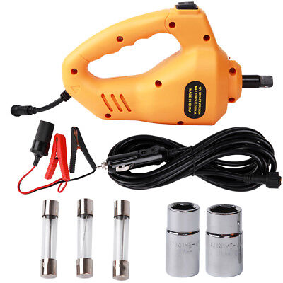 """85W 1/2"""" 12V Electric Impact Wrench Rattle Gun Car Torque Driver Tools 340Nm"""