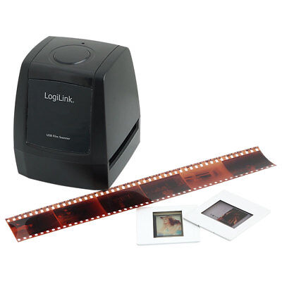 LogiLink DS0002 Dia Scanner Negative Scanner Digitalisier USB SD-Slot 5MP