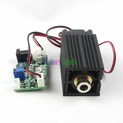 33*50mm Focusable 520nm Green Laser Diode Module Dot/Line/Cross Fan with Fan TTL