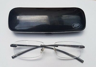 Foster Grant Frameless Reading Glasses + 1.50 + Boots Hard Case