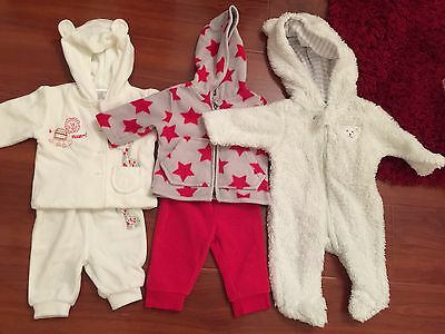 Baby Size 0000 / Newborn Jackets And Outer Wear (5 Items)