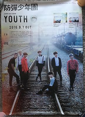 BTS / Bangtan Boys - YOUTH Japanese Album Official Big Poster - Kpop
