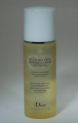 Dior Instant Gentle Cleasing Oil With Pure Lily Extract Face And Eyes 200 Ml