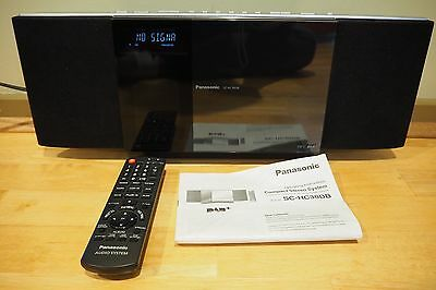 Panasonic SC-HC30DB DAB+ mini audio system with CD and Ipod dock