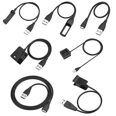 USB Charging Charger Cable Cord For Fitbit Alta/Blaze/Charge HR/Flex Wristband