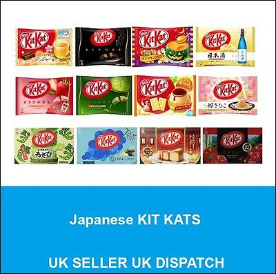 Japanese Kit Kat Lots of Flavours - UKSELLER