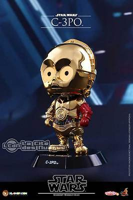 Hot Toys COSB298 Star Wars The Force Awakens C-3PO Cosbaby (S) Bobble-Head