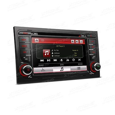 "Radio Dvd Gps Xtrons Pf71A44As Audi A4 S4 Seat Exeo Pantalla 7"" Hd Canbus Sd Usb"
