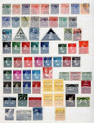 NETHERLANDS & COLONIES: Mint and used collection in a 12-sided stockbook