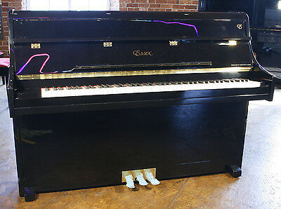 Ex-display, Essex model EUP108 upright piano. Designed by Steinway & Sons