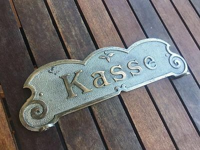 Kassenschild National, Original, Registrierkasse