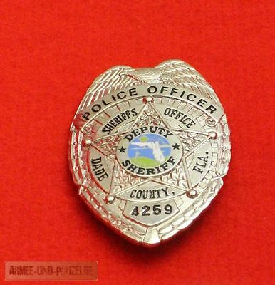 Historisches Police Officer Dade Country FLA