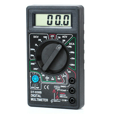 "Portable Digital Multimeter LCD 1.8"" Electronic Meter Tester Voltmeter"
