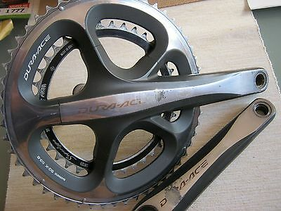 SHIMANO DURA ACE FC-7900 10-SPEED CRANK SET, 172.5mm, 53/38t, USED