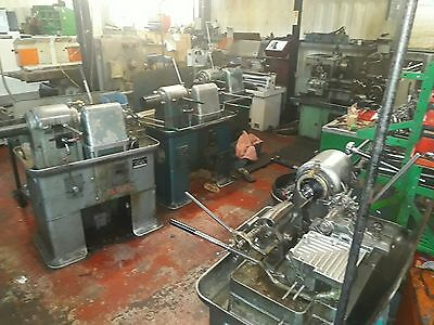 X4 Britain capstan lathes plus tooling and spares