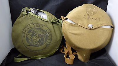 Vintage BOY SCOUTS OF AMERICA NATIONAL COUNCIL OFFICIAL Cook Kit and Canteen