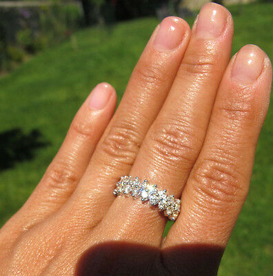 SUBLIME BAGUE ANCIENNE JOAILLERIE OR 18k 20 DIAMANTS EXTRA BRILLANTS 1 CARAT ++