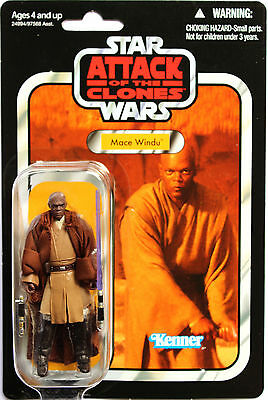 Star Wars The Vintage Collection Vc35 Mace Windu Hasbro
