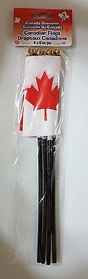 Canadian Flags (4 x 6 in)  4 pack