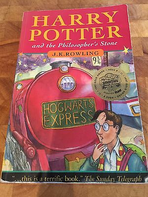 Harry Potter and the Philosopher's Stone, First Edition 8th Print, Young Wizard