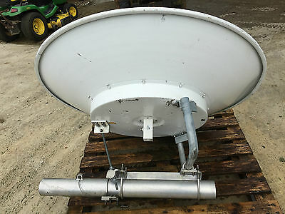 1.3m satellite dish with 5.2Ghz LNB. Post and mounting brackets
