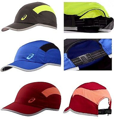 Mens Womens asics Running Sports Sun Protection Baseball Cap Caps 123005 56 / 58