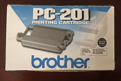 Brother PC-201 Ink Printing Cartridge FAX MFC Brand New