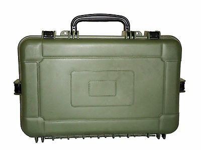 Green Airtight/Watertight Hard Case without Foam *Unbranded*