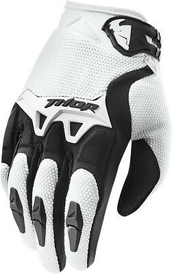 Thor Spectrum Mens MX/Offroad Gloves White