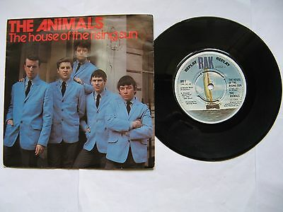 "The Animals ""The House Of The Rising Sun /Don't Let Me.../I'm Crying""1964/65, 7"""