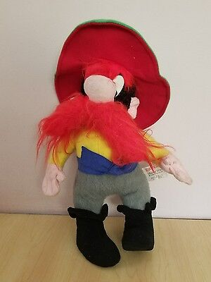 Vintage Yosemite Sam Mighty Star Plush 1971 Warner Bros Looney Tunes Toy