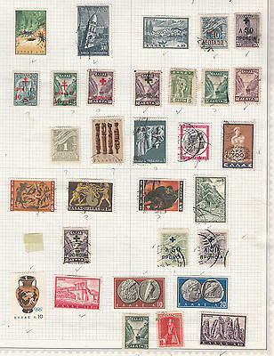 GREECE  ^^^^^^^ mint & used  collection    hcv @ f723xxbgree