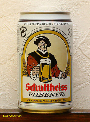 Schultheiss 1993 German beer 0,33L can empty