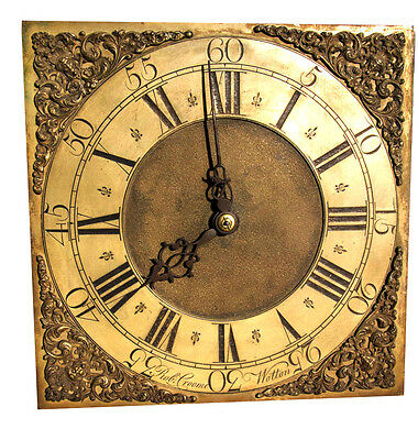 """ROBERT CROOME of WOOTTON under EDGE.  LOVELY 11"""" BRASS DIAL LONGCASE • £925.00"""