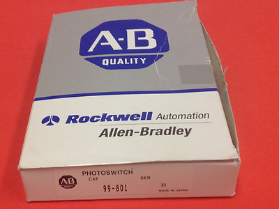 Allen-Bradley - Catalog #99-801 - Fiber Optic Photoelectric Sensor - NEW