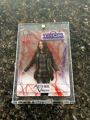 Marvel Thor The Dark World Trading Card! Aether Variant Natalie Portman 04/10!!