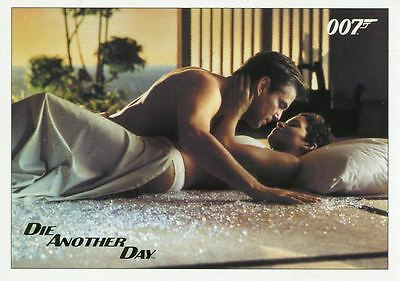 James Bond Archives 2017 Final Ed. Die Another Day Gold Stamped Base Card #83