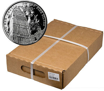 Monster Box of 100 -2017 Britain 1 oz Silver Landmark Big Ben £2 In Cap SKU47521