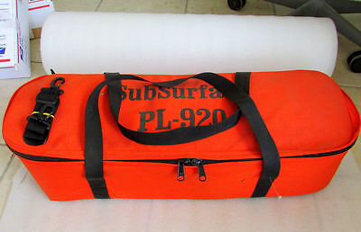 SubSurface PL-920 Pipe and Cable Locator with Storage Case Operators Manual