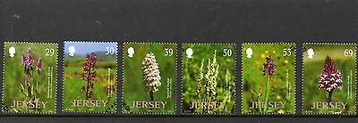 Sg 1089-94Jersey  Orchids Very  Fine Used Set