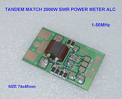 TANDEM MATCH 2kW 2000W SWR POWER METER amplifier LDMOS MOSFET BLF188XR VRF2933