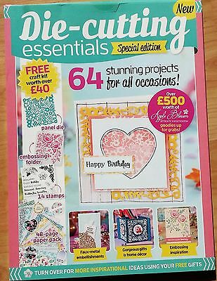 Die-cutting Essentials Special Edition Issue 4 with FREE Craft Kit