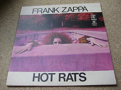 Frank Zappa Hot Rats Reprise Original UK Press 1970 Transitional Early Copy LP