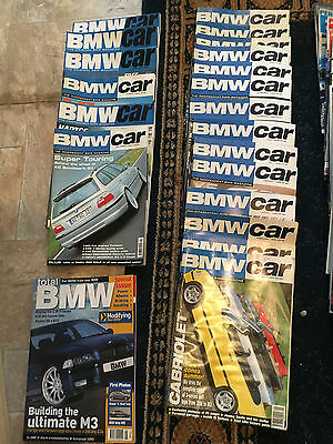 BMW Car Magazines 1997 - 2002 Issues