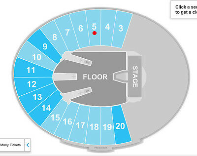 METALLICA, SECTION 5 SET OF SEATS, concert tickets, Rose Bowl, July 29 2017
