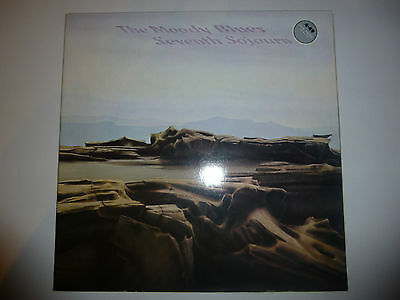 "The Moody Blues ‎– 'Seventh Sojourn' 12"" vinyl album LP. 1972 HOLLAND. VG++/EX"