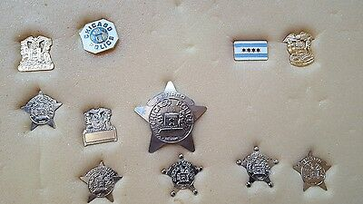Chicago Police pins alot of 11