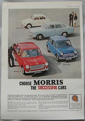 1964 Morris Original advert